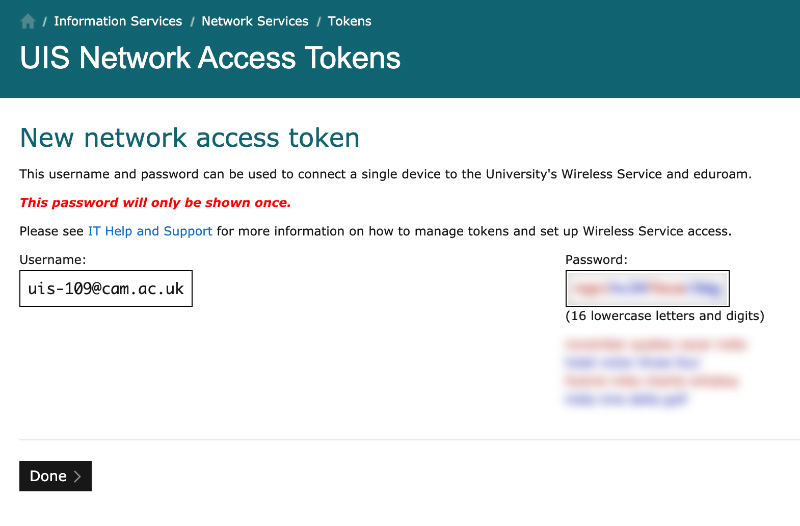 5b Token admin create 2