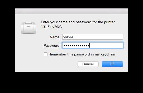 Mac OS Authentication