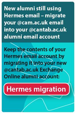 Alumni Hermes email migration