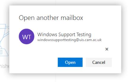 Adding mailbox OWA screen 3
