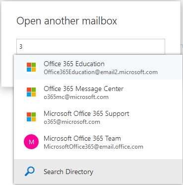 Adding mailbox OWA screen 5
