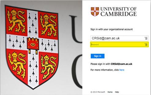 Au edu login cambridge www Cambridge Junior