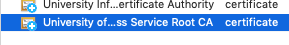 eduroam trust certificate