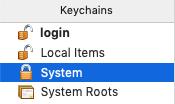 eduroam trust keychains