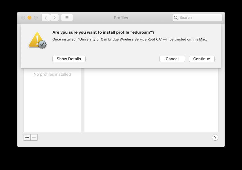 macOS Step 3