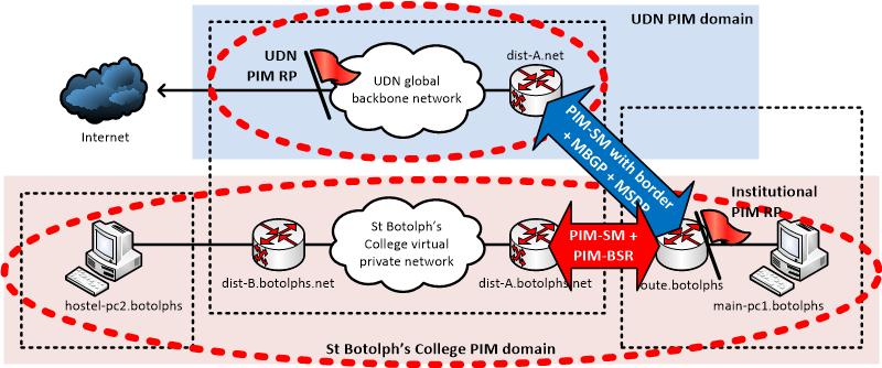 MPLS VPN multicast