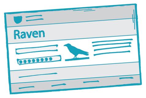 Raven Login Screen