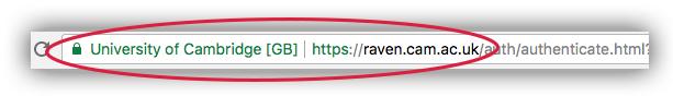 Raven Auth URL