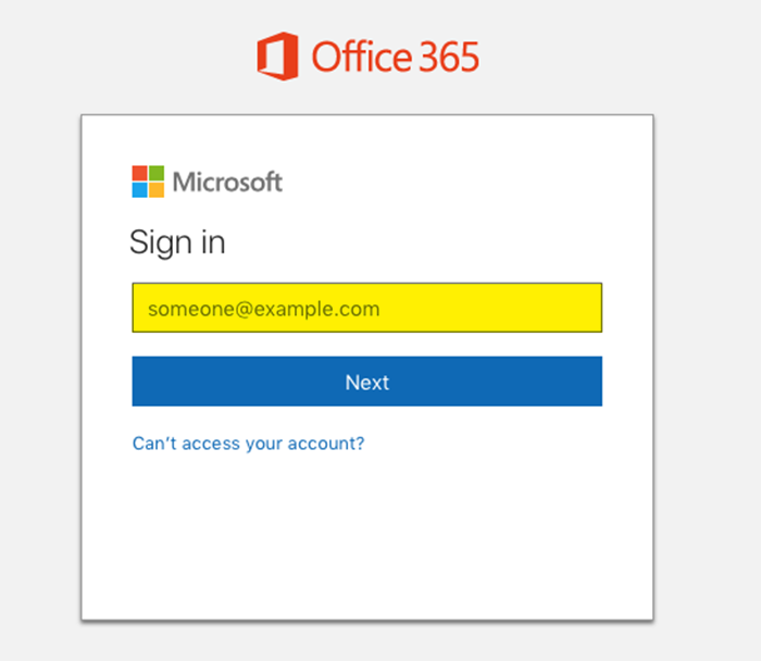 Sign-in Welcome New