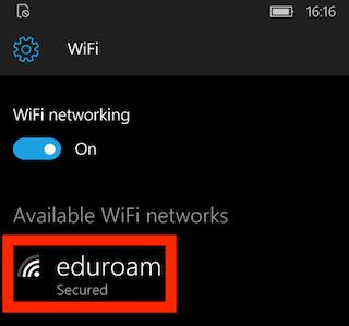 winphone edu 5 wifi