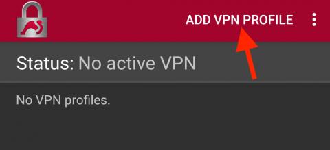 add VPN profile