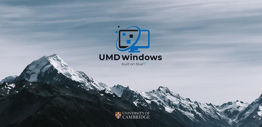 UMD windows desktop