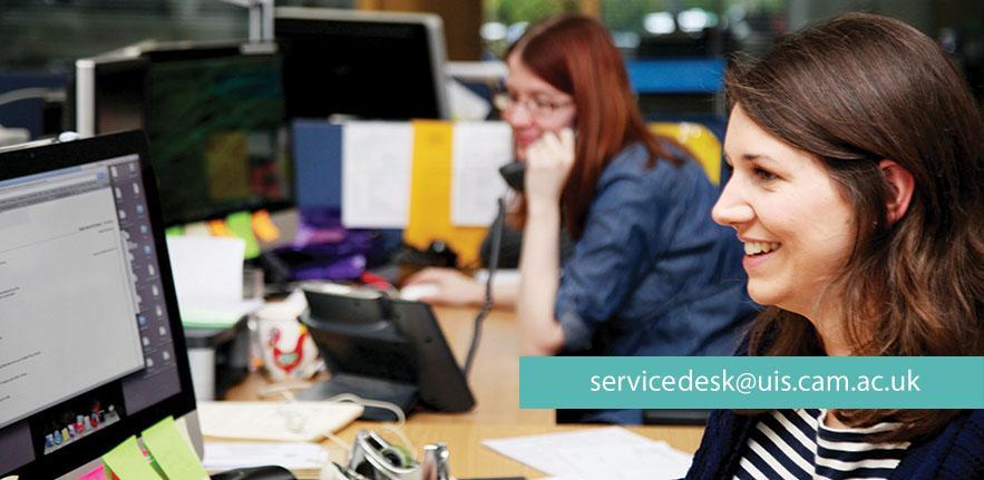 Service desk carousel
